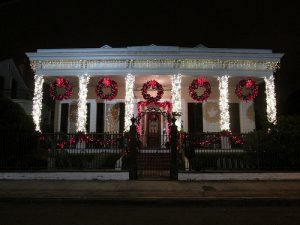 Decoración navideña en New Orleans - Gumbo Madrid