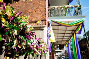 Los colores de Mardi Gras - Gumbo Madrid